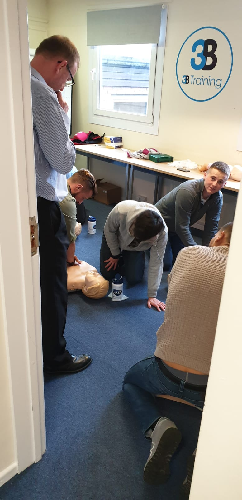 First Aid and Harness Training
