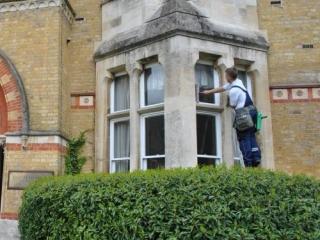 Window Cleaning by hand N Clark Window Cleaning Ltd