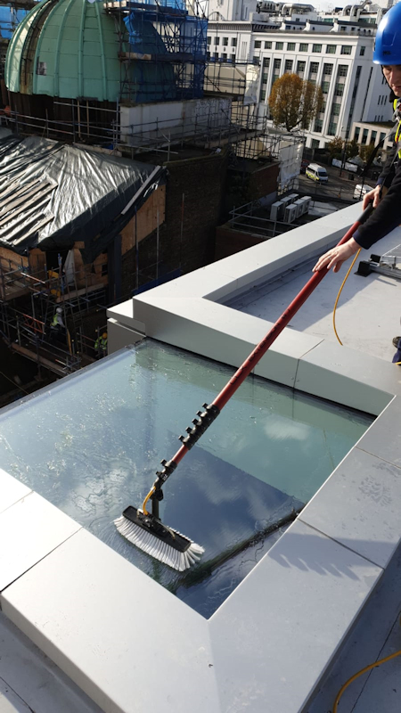 Skylights and Velux Windows Cleaning by N Clark Window Cleaning Ltd